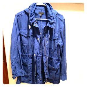 EUC J. Crew cotton jacket, PL but fits like Reg M